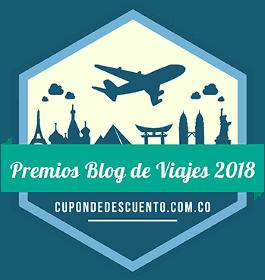 Banner Premios Blog de viajes 2018
