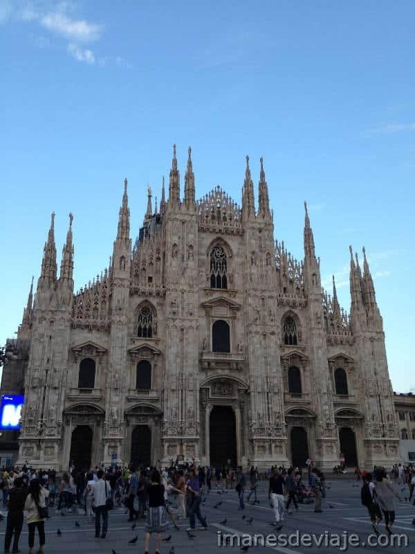 Que ver y que hacer un día en Milán Duomo