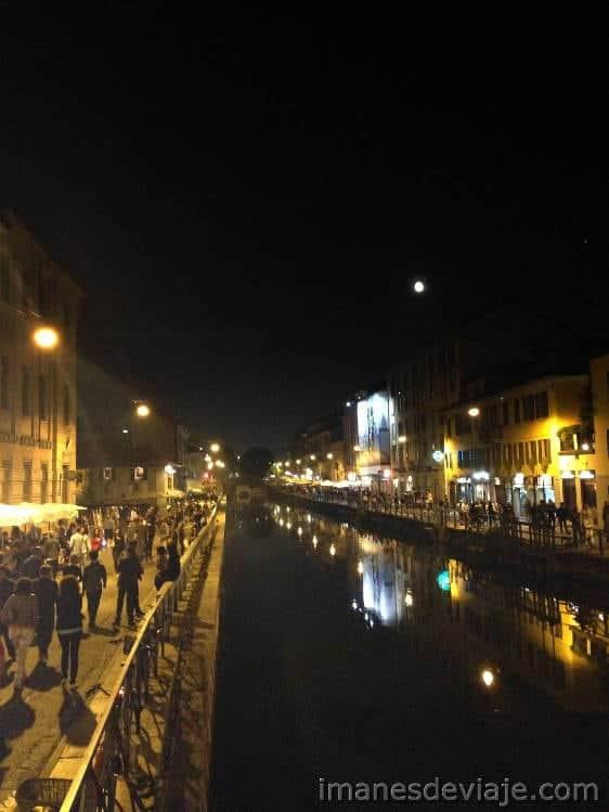 que ver y que hacer un dia en Milán Navigli