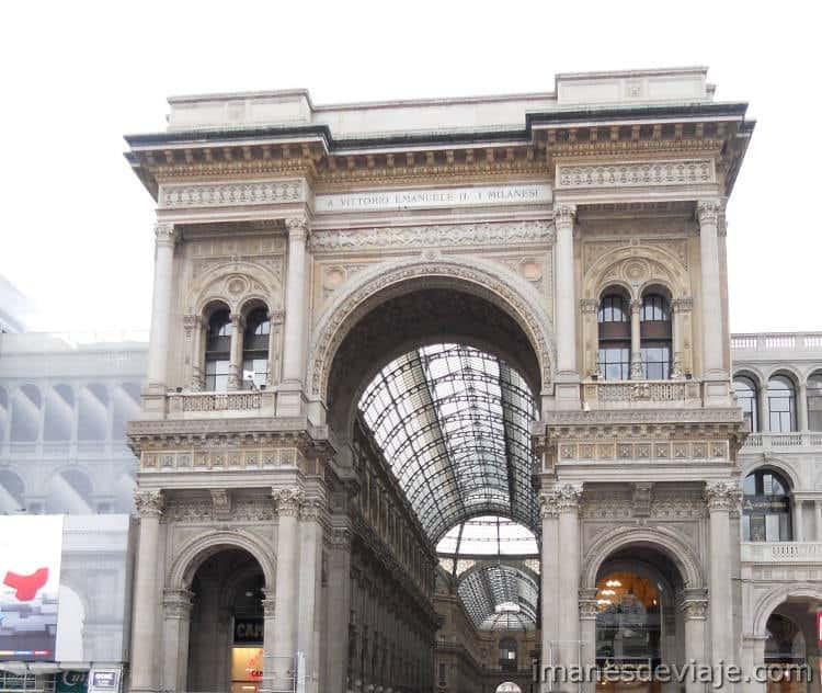 que ver y que hacer un día en Milán Vittorio Emanuelle