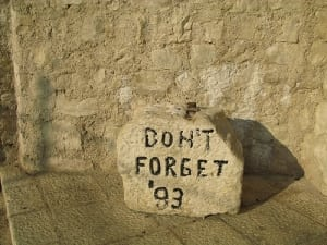 Mostar_ Don´t forget 93