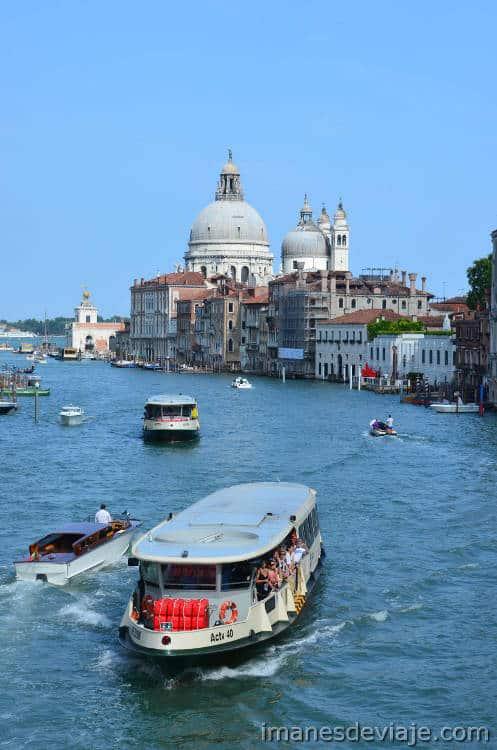 Como moverse por Venecia_Vaporetto