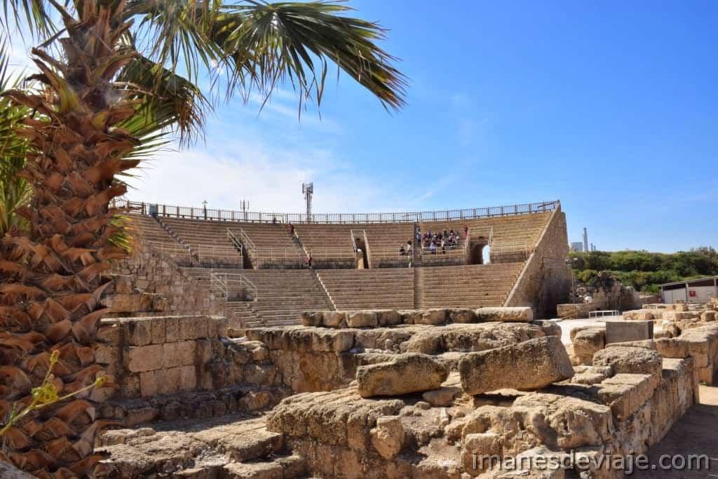 Iineratio de viaje ruta por Israel Jordania Palestina Cesarea