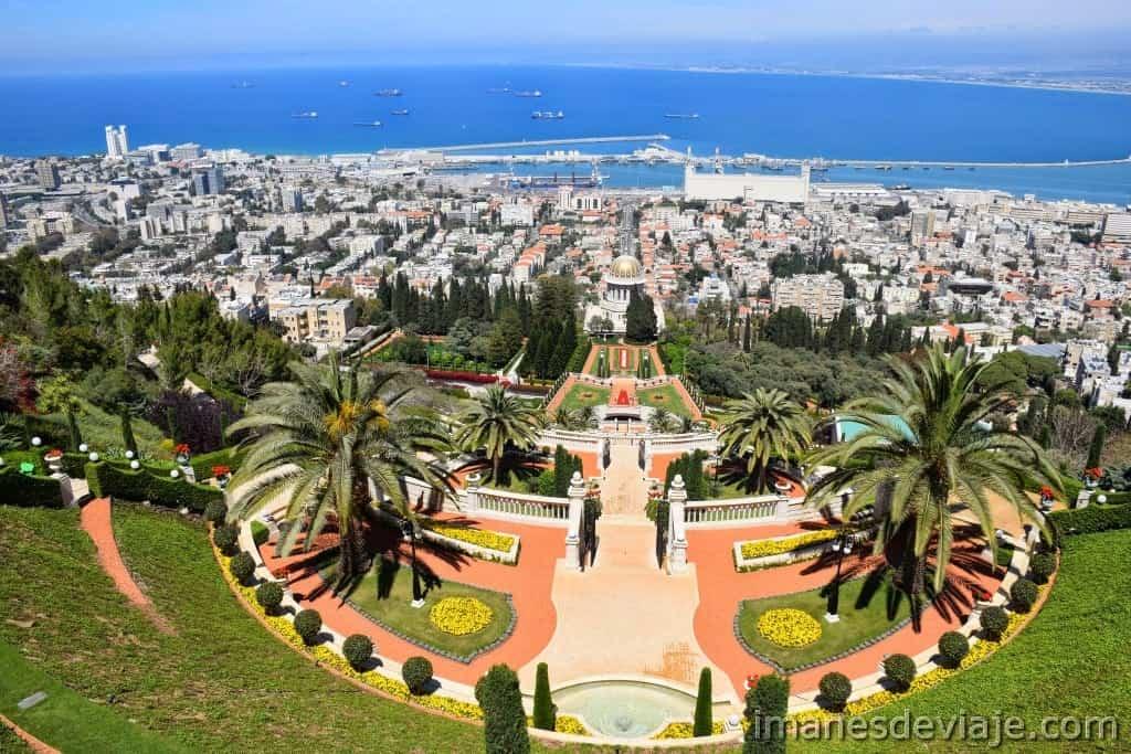 Itinerario de viaje ruta por Israel Jordania Palestina Haifa