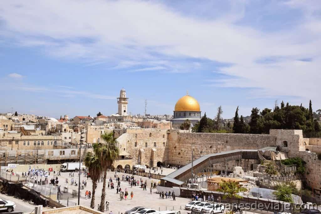Itinerario de viaje ruta por Israel Jordania Palestina Jerusalén