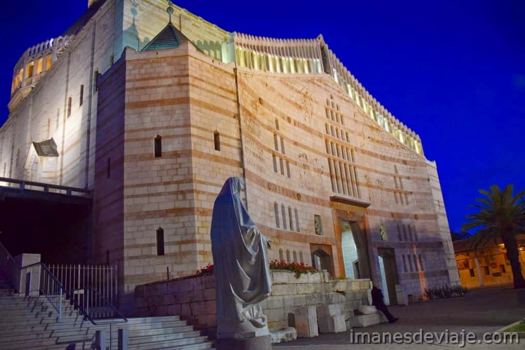 Itinerario de viaje ruta por Israel Jordania Palestina Nazareth