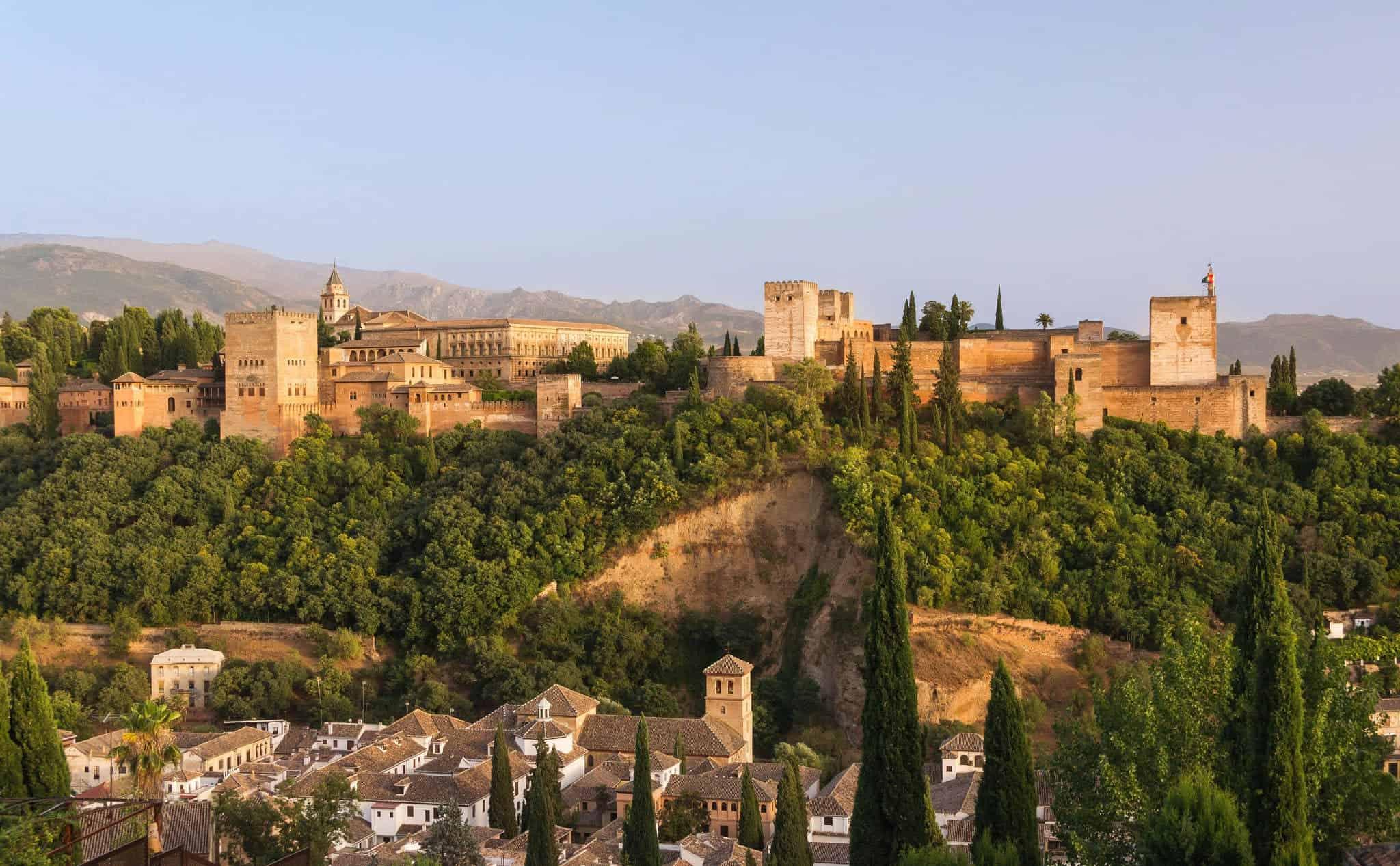 Resultado de imagen de alhambra from mirador
