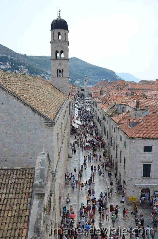 Que ver en Dubrovnik en un día o dos días Stradun