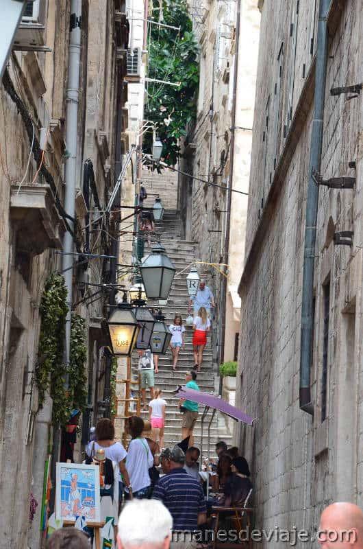 Que ver en Dubrovnik_ en un día o dos días calles estrechas2