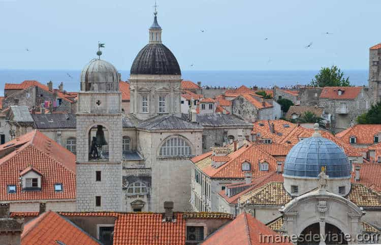 Que ver en Dubrovnik en un día o dos días vista murallas