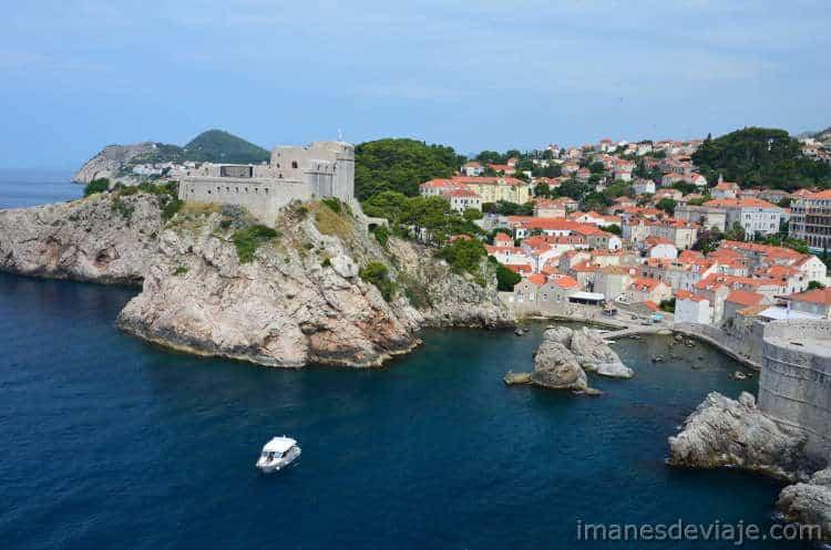 Que ver en Dubrovnik en un día o dos días Lovrijenak