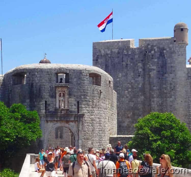 Que ver en Dubrovnik en un día o dos Puerta Pile