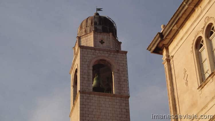 Que ver en Dubrovnik en un día o dos días Torre del Campanario