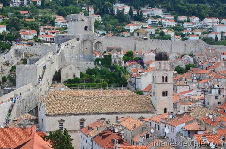 Que ver en Dubrovnik en un día o dos días murallas