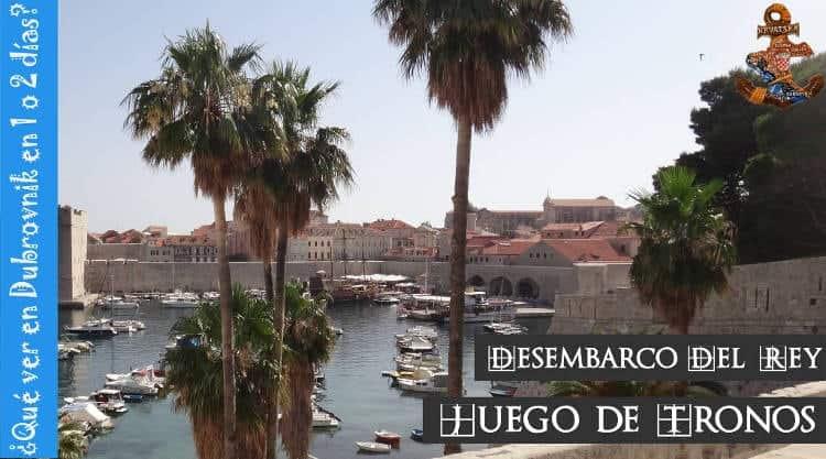 Que ver en Dubrovnik en un día o dos días Portada