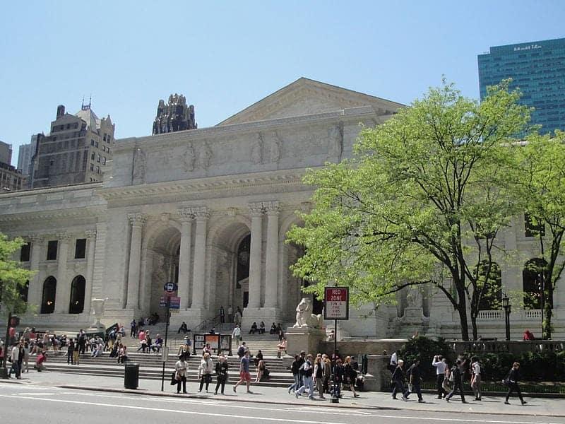Escenario películas_Nueva York_Biblioteca