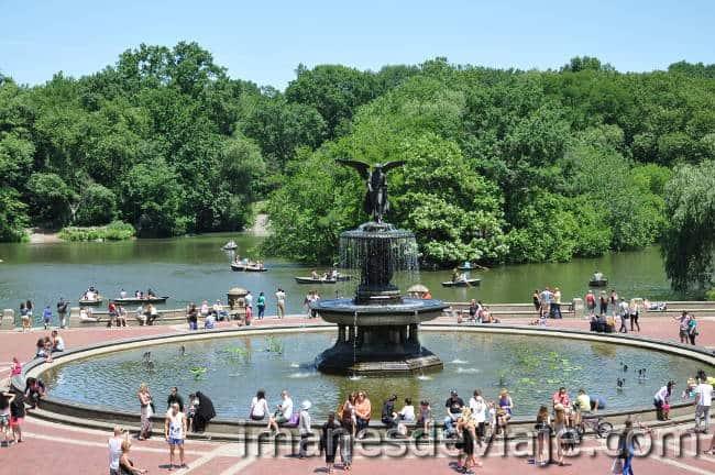 Cosas que ver y hacer en Nueva York gratis fuente Bethesda