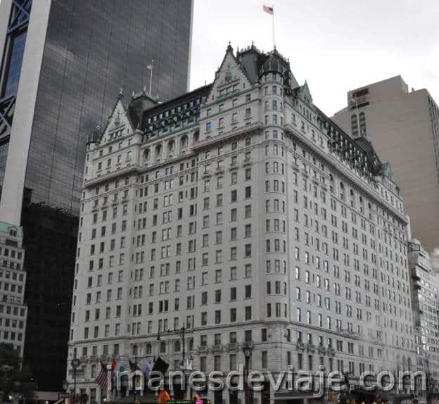 Escenario peliculas_Nueva York_Hotel Plaza