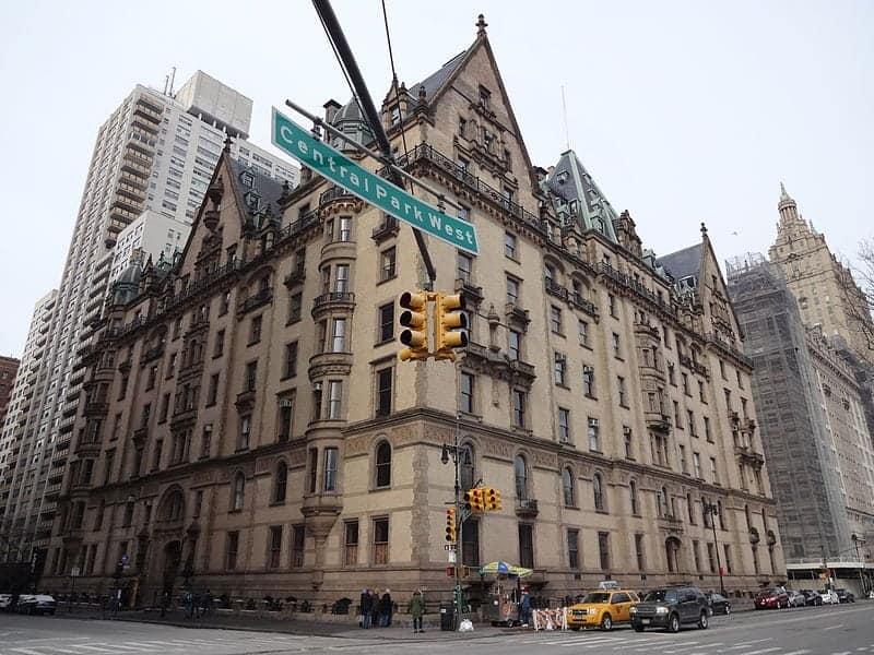 Escenario películas_Nueva York_Dakota Building