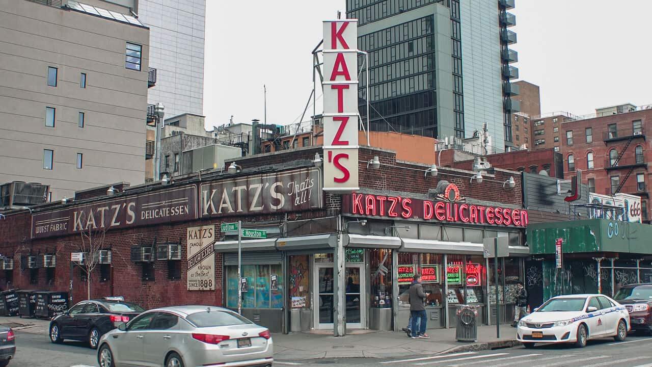 lugares de pelicula en nueva york katz s delicatessen