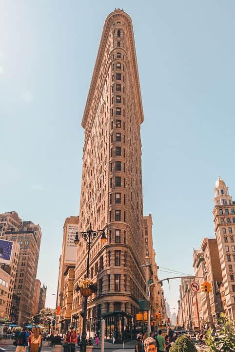 lugares de series y peliculas en nueva york flatiron building