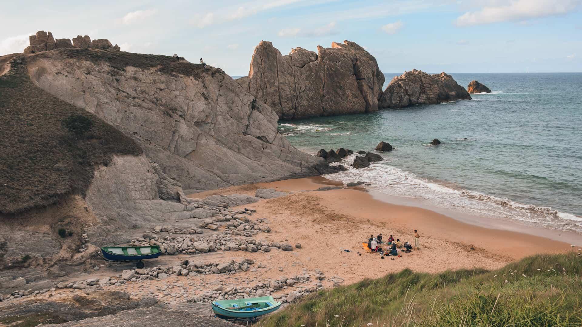 mejores playas cerca de santander la arnia