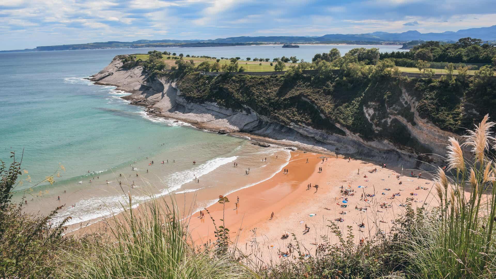 mejores playas de santander mataleñas