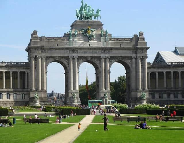 cosas que ver y hacer en Bruselas en un día_Parque del Cincuentenario