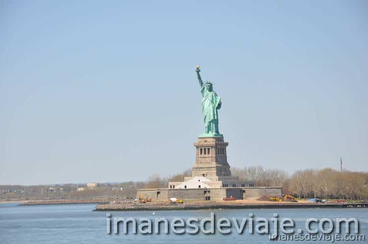 cosas que ver y hacer en Nueva York gratis Estatua Libertad