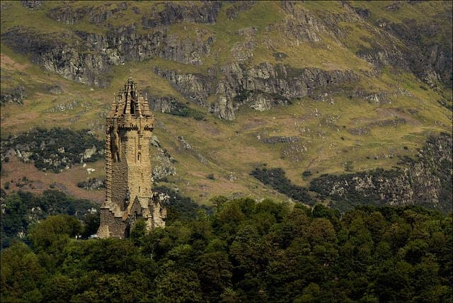 Visitar el monumento Willliam Wallace Stirling