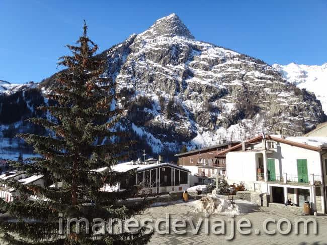 los mejores destinos donde ir en Navidad Alpes