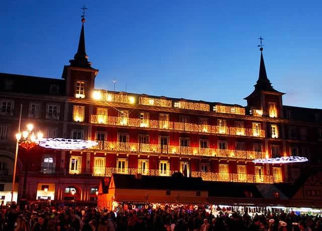 mejores destinos para ir en Navidad Madrid
