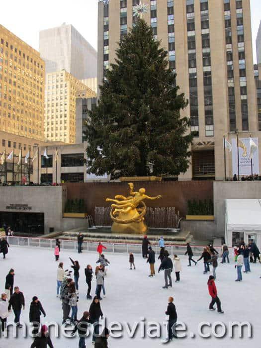 los mejores destinos donde ir en Navidad Nueva York 2