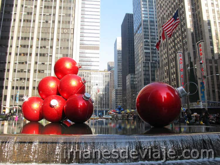 los mejores destinos donde ir en Navidad Nueva York