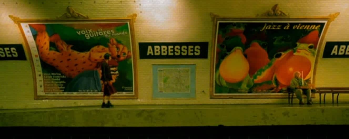 Localizaciones del París de Amélie Abbesses