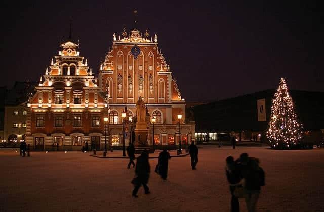 mejores destinos para ir en Navidad Riga