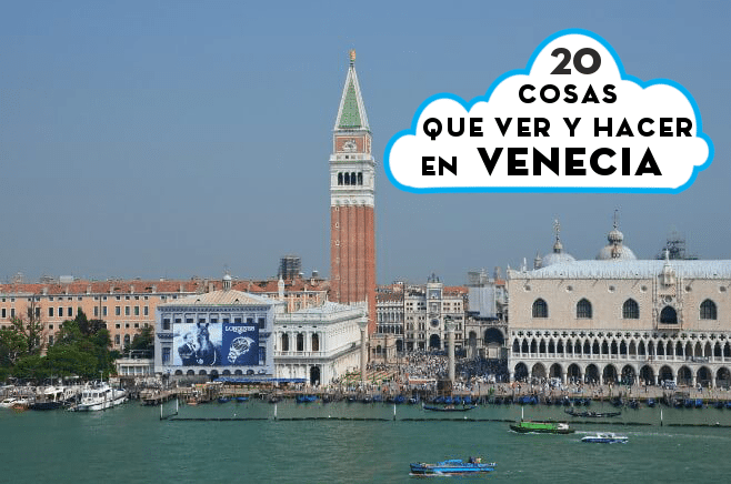 Que ver y hacer en Venecia portada