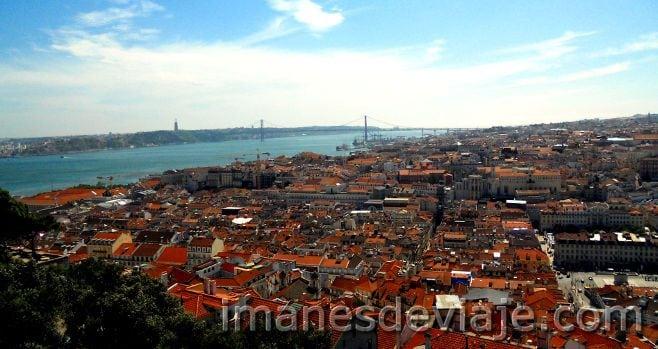 Que ver y hacer en Lisboa Castillo San jorge