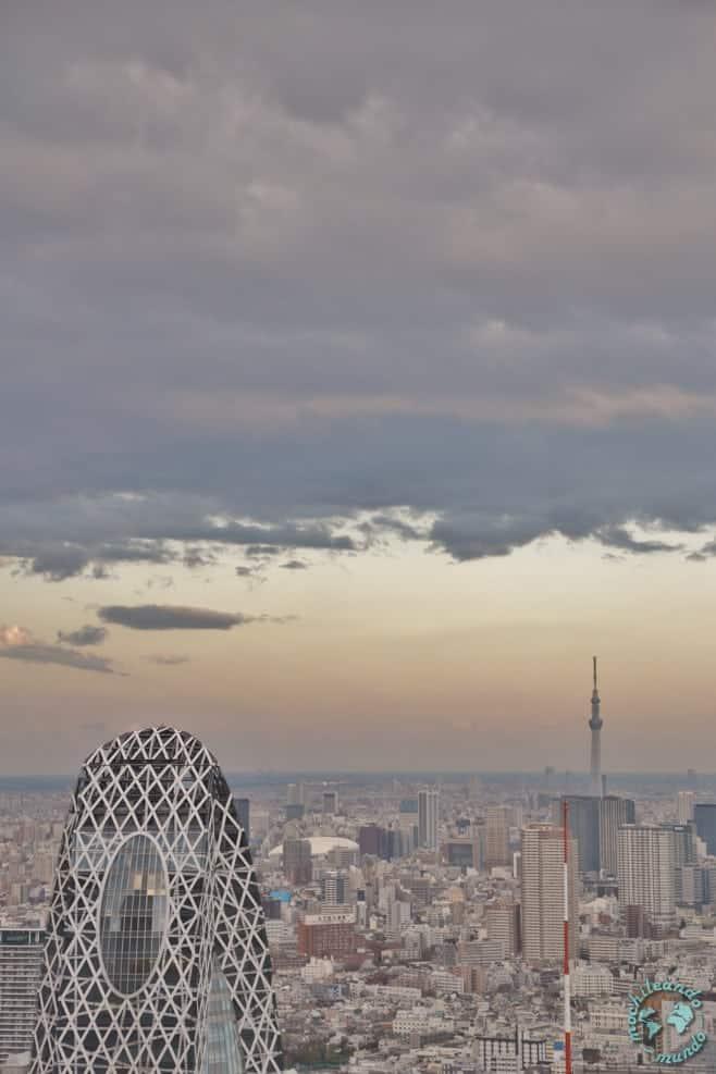 mejores vistas desde arriba Tokio