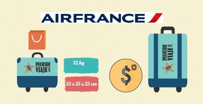 tamaño de maleta permitido según compañía aérea