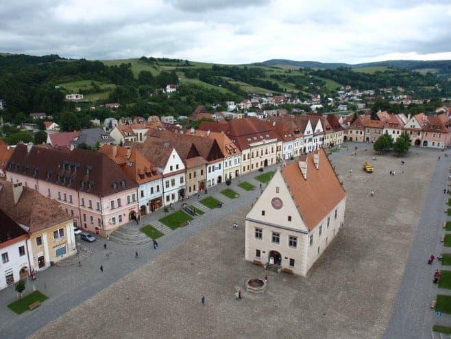mejores vistas desde arriba Bardejov