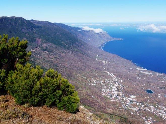 mejores vistas desde arriba El Hierro