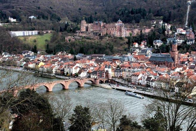 mejores vistas desde arriba Heidenberg