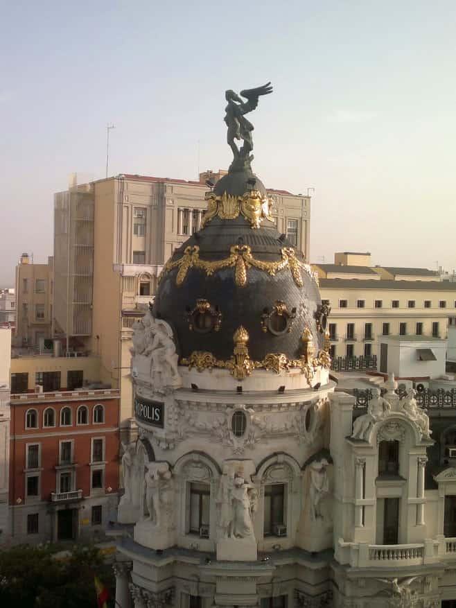 mejores vistas desde arriba Madrid