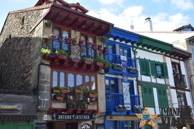 pueblos más bonitos costa del País Vasco Hondarribia