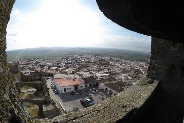 mejores vistas desde arriba Medina Sidonia