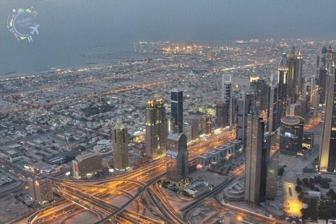 mejores vistas desde arriba Dubai