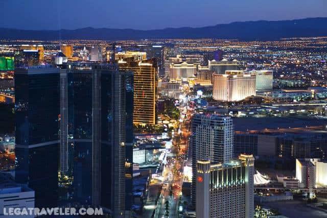 mejores vistas desde arriba Las Vegas