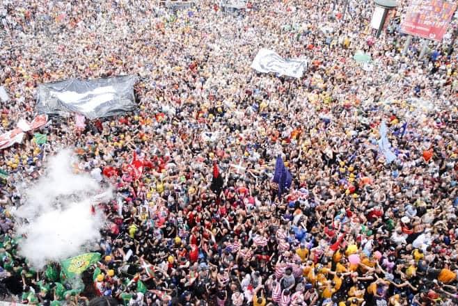 mejor fiesta de España en verano Bilbao