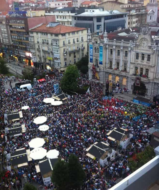 mejor fiesta de España en verano Santander